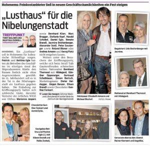 VN Lusthaus Eröffnung Hohenems