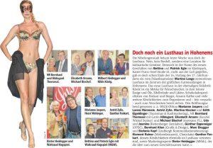 Doch noch ein Lusthaus für Hohenems - Artikel im Wann & Wo