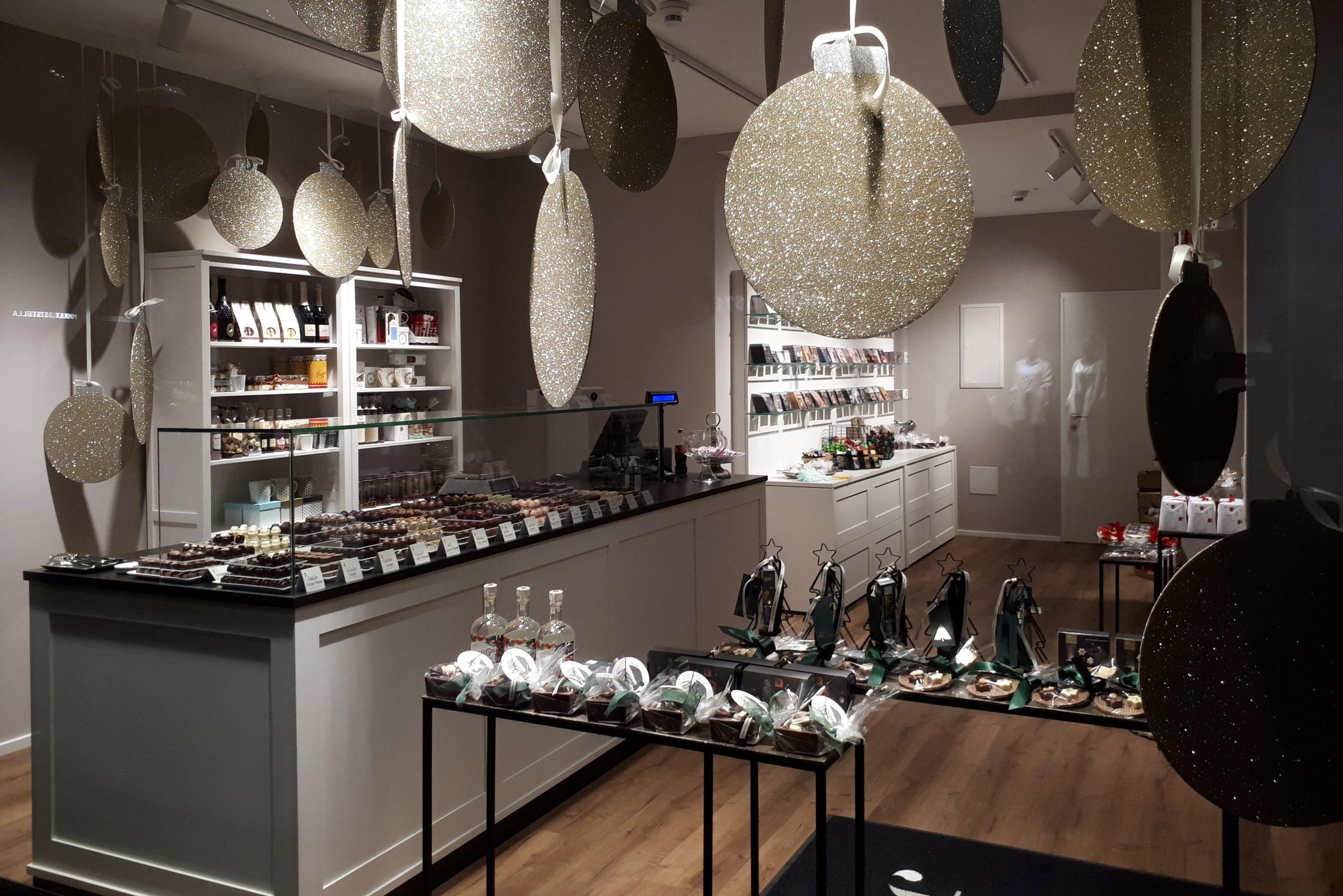Feinkostina Schokolade & Pralinen Geschäft Götzis am Garnmarkt, Vorarlber